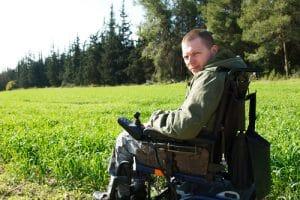 רשלנות רפואית בצבא חייל על כיסא גלגלים
