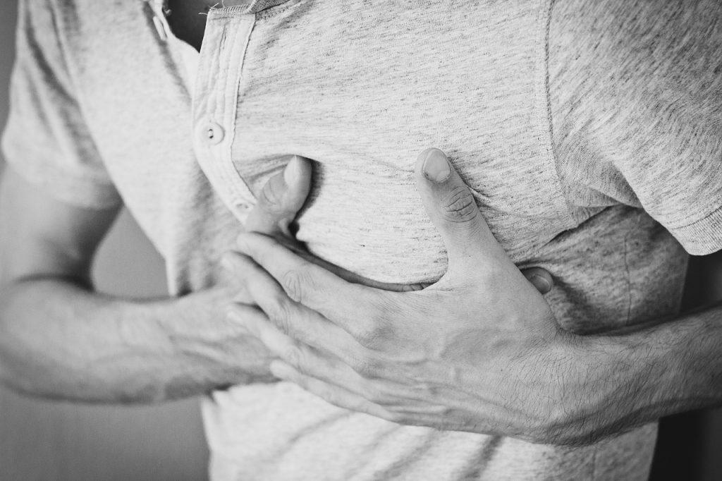 תמונה של אדם הסובל ממחלות לב בצבא